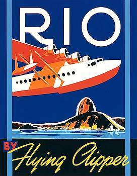 Rio by flying clipper Wall Art by Brian James