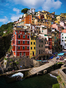 Riomaggiore Afternoon by Rae Tucker