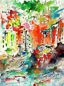 Ginette Callaway - Riomaggiore Impressions Cinque Terre Italy