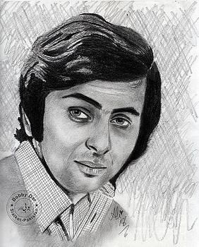 Rishi Kapoor by Ali Muhammad