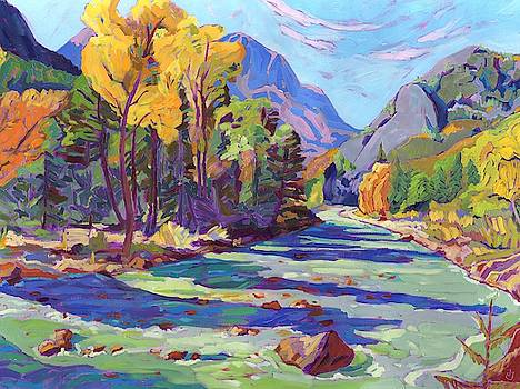 River Aspens by Jessica Johnson