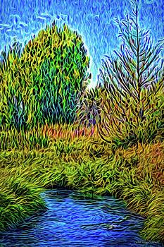 River Aura Melody by Joel Bruce Wallach