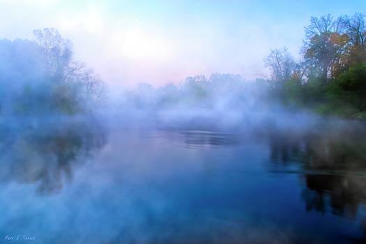 Mark E Tisdale - River Of Mists - Georgia Landscapes