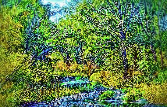 River Rapture Flowing by Joel Bruce Wallach