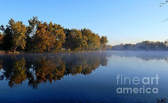 River Reflection by Denise Irving