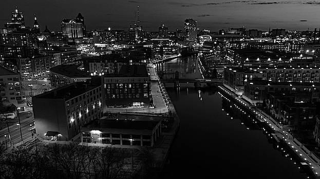 Mke River Sunset by Steve Bell
