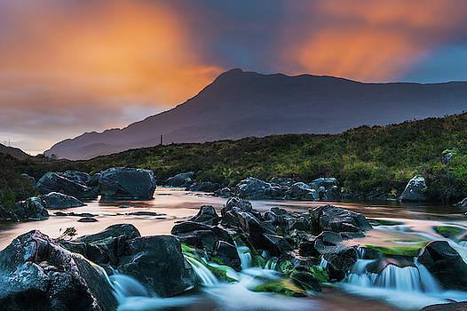 David Ross - River Torridon and Sgurr Dubh, sunrise