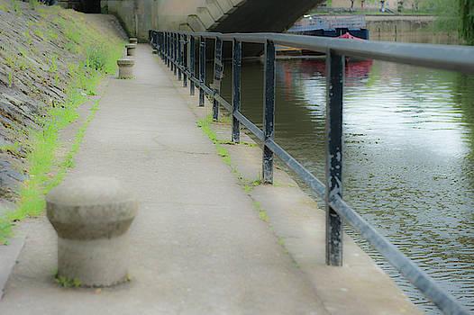 Riverside Bollard by Helen Northcott