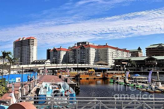 Diann Fisher - Riverwalk Sail Pavilion Dock Slips