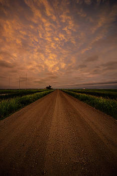 Road to Huron  by Aaron J Groen