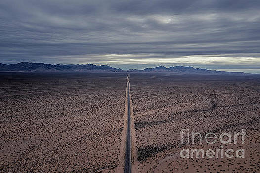 Road To Valley Of Fire  by Michael Ver Sprill