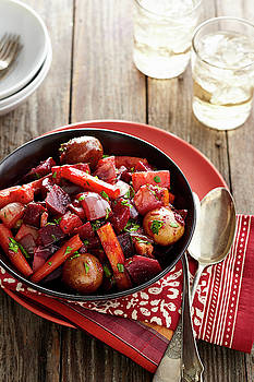Roasted Root Vegetables by Cuisine at Home