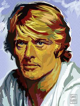 Robert Redford Portrait by Garth Glazier