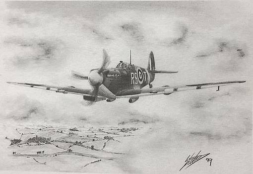 Robert Stanford Tuck Spitfire by Simon Cockett