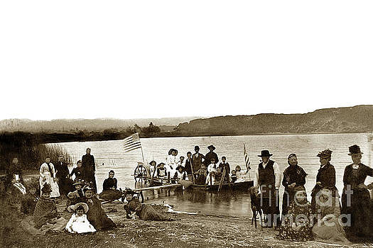 California Views Archives Mr Pat Hathaway Archives - Roberts Lake, 4th of July Seaside, California 1895
