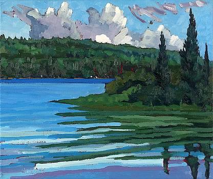 Phil Chadwick - Robinson Lake Towering Cumulus