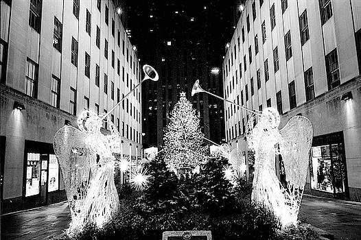Rockefeller Center Angels by Dave Beckerman