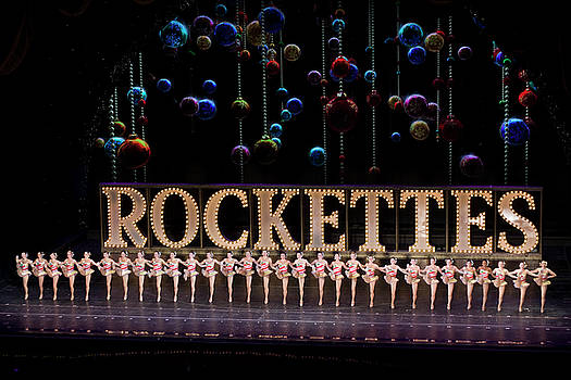 Rockettes at Radio City Music Hall in New York City by Carl Purcell