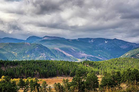 Rockies - Clouds by James L Bartlett
