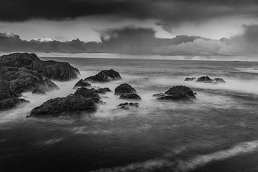 Rocks in the storm by Kai Mueller