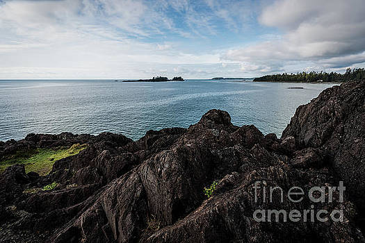 Rocky Coastline by Carrie Cole
