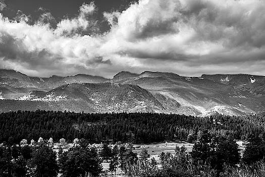 Rocky Foothills BW by James L Bartlett