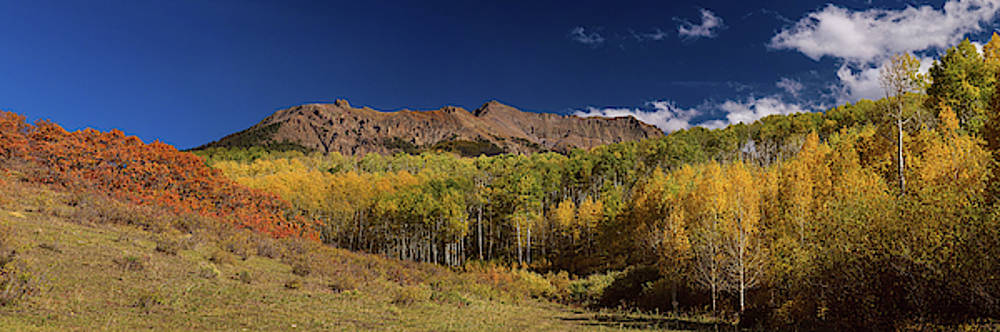 James BO Insogna - Rocky Mountain Autumn Panorama View