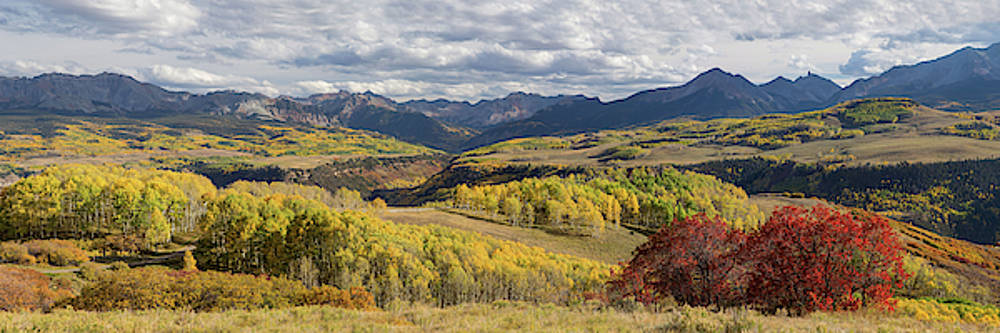 James BO Insogna - Rocky Mountain Valley Of Color Panoramic View