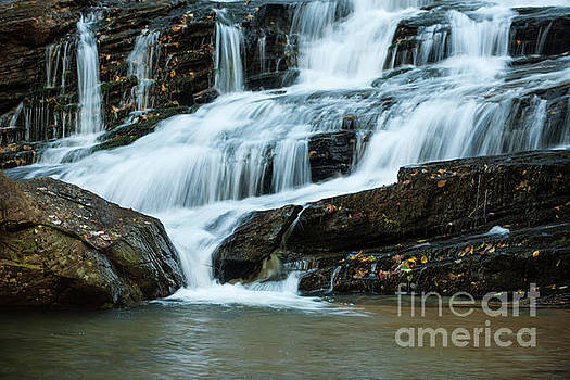 Rocky Water Fall by Dale Powell
