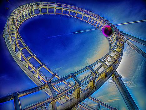 Roller Coaster Ocean City MD by Paul Wear