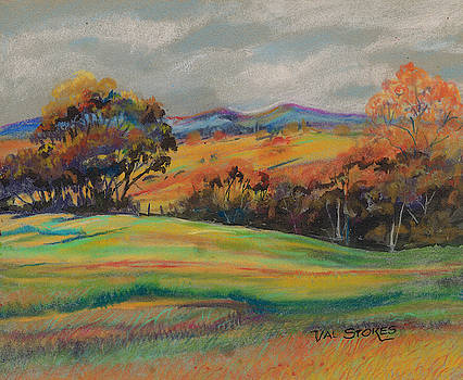 Rolling Hills by Val Stokes