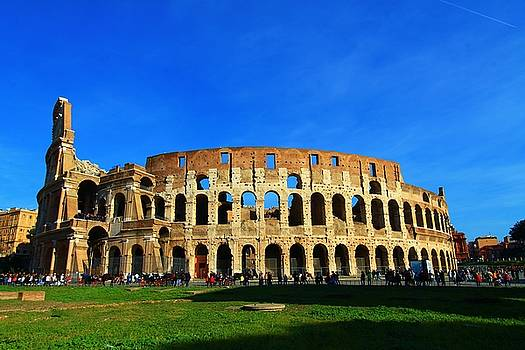 Roman Coliseum  by Catie Canetti
