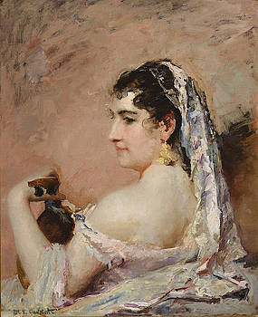 Mary Stevenson Cassatt - Roman Girl