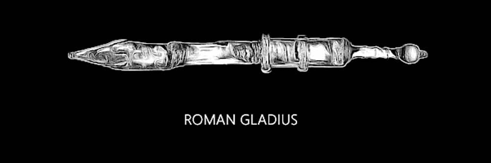 Roman Gladius by Robert Bissett