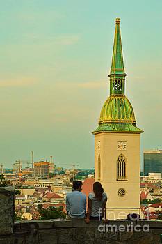 Romance in Bratislava by Yavor Mihaylov
