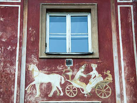 Romance Under The Window by Ramunas Bruzas