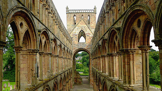 Romanesque and Gothic Arches in Church Architecture by Chris Gill