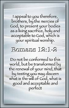Romans 12 1 2 by David Norman