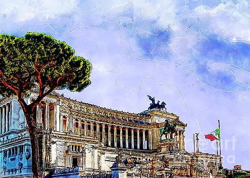 Rome art by Justyna JBJart