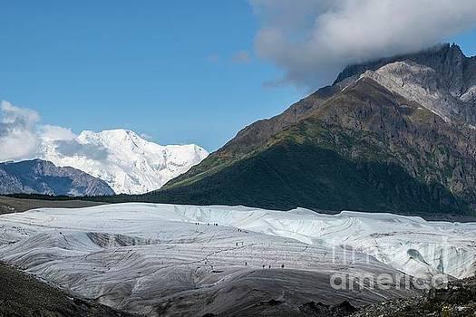 Root Glacier - Kennicott Alaska by Jan Mulherin