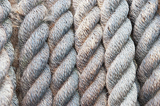 Rope Texture i by Helen Northcott