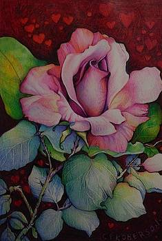 Rose and Hearts by Catherine Robertson