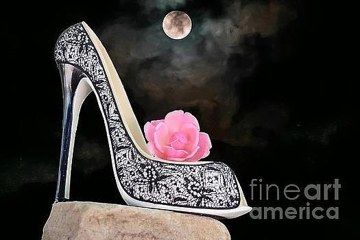 Rose Moon by Sherry Little Fawn Schuessler