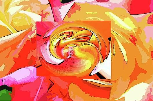 Rose of love by Karl-Heinz Luepke