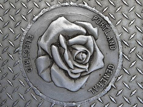 Rose Sidewalk Grate by Norman Burnham