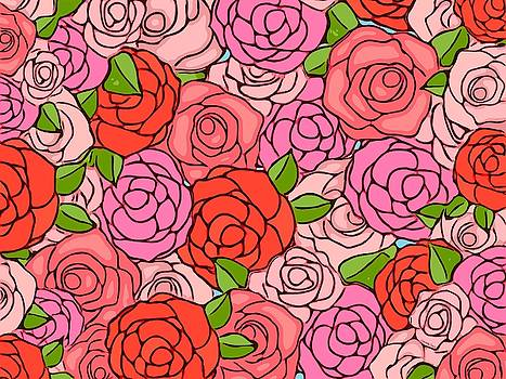 Roses by Gabriella Weninger - David