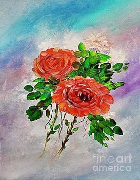 Roses by Mary Scott