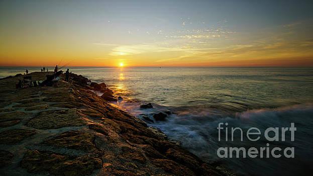 Rota Spain Sunset by Pablo Avanzini