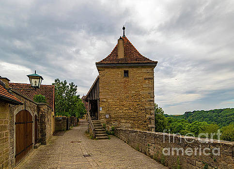 Rothenburg Old City Wall by Norma Brandsberg