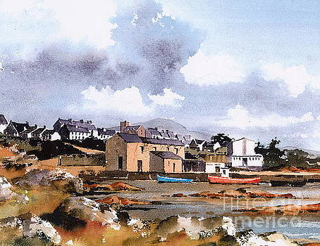 Val Byrne - Roundstone old Harbour